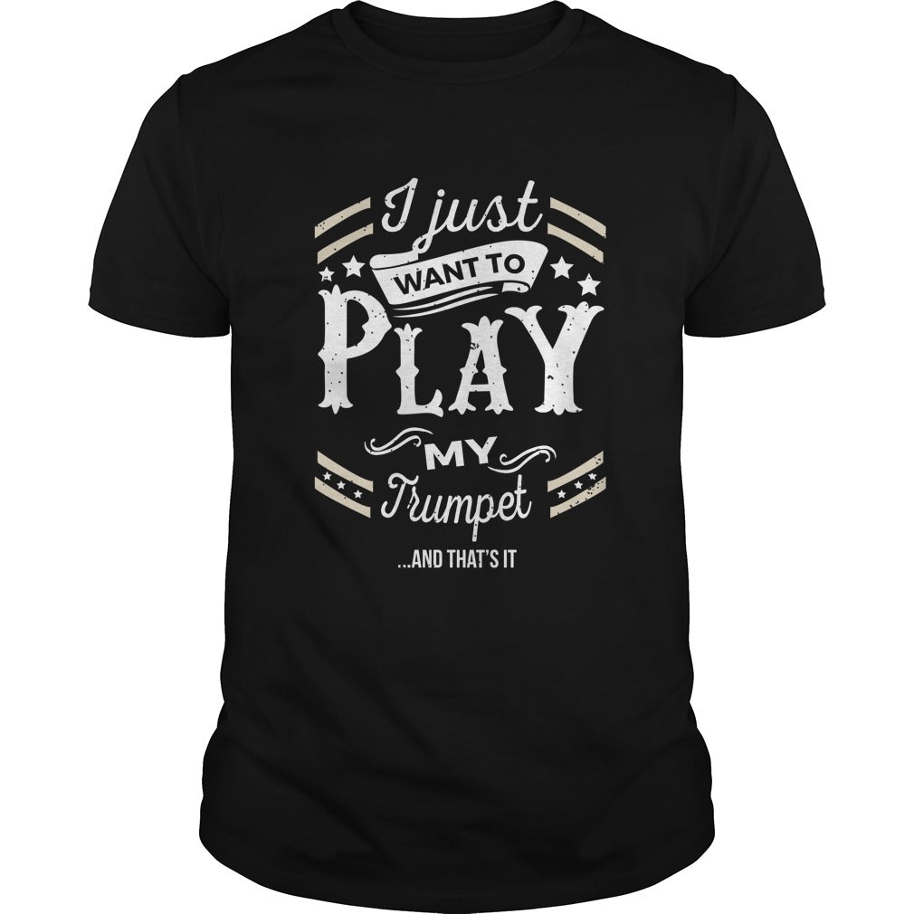 Trumpet Play World Men's T-Shirt