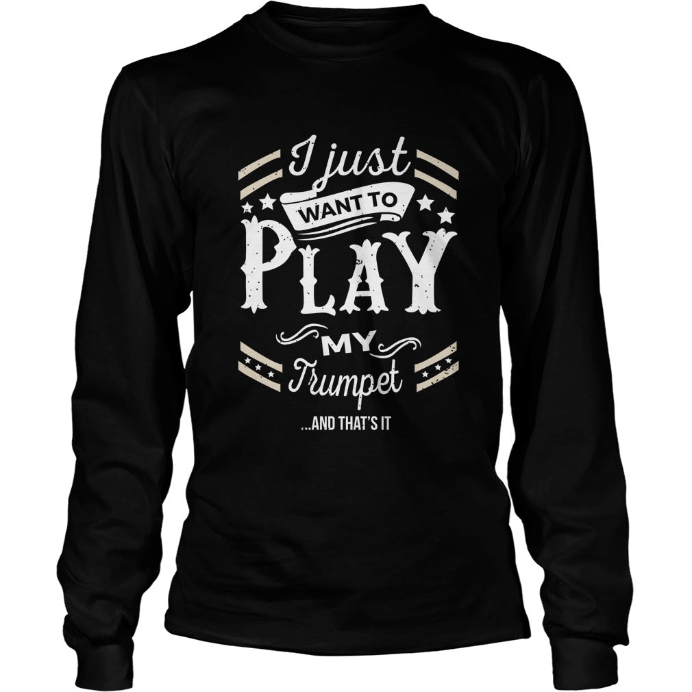 Trumpet Play World Unisex Longsleeve T-Shirt