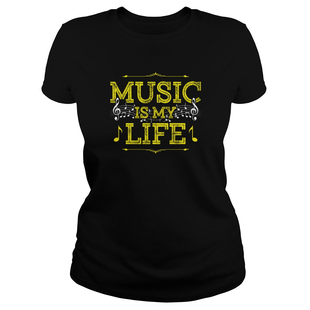 Music Is My Life Women's T-Shirt