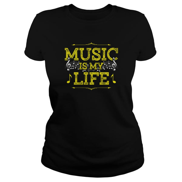Music Is My Life Men's T-Shirt