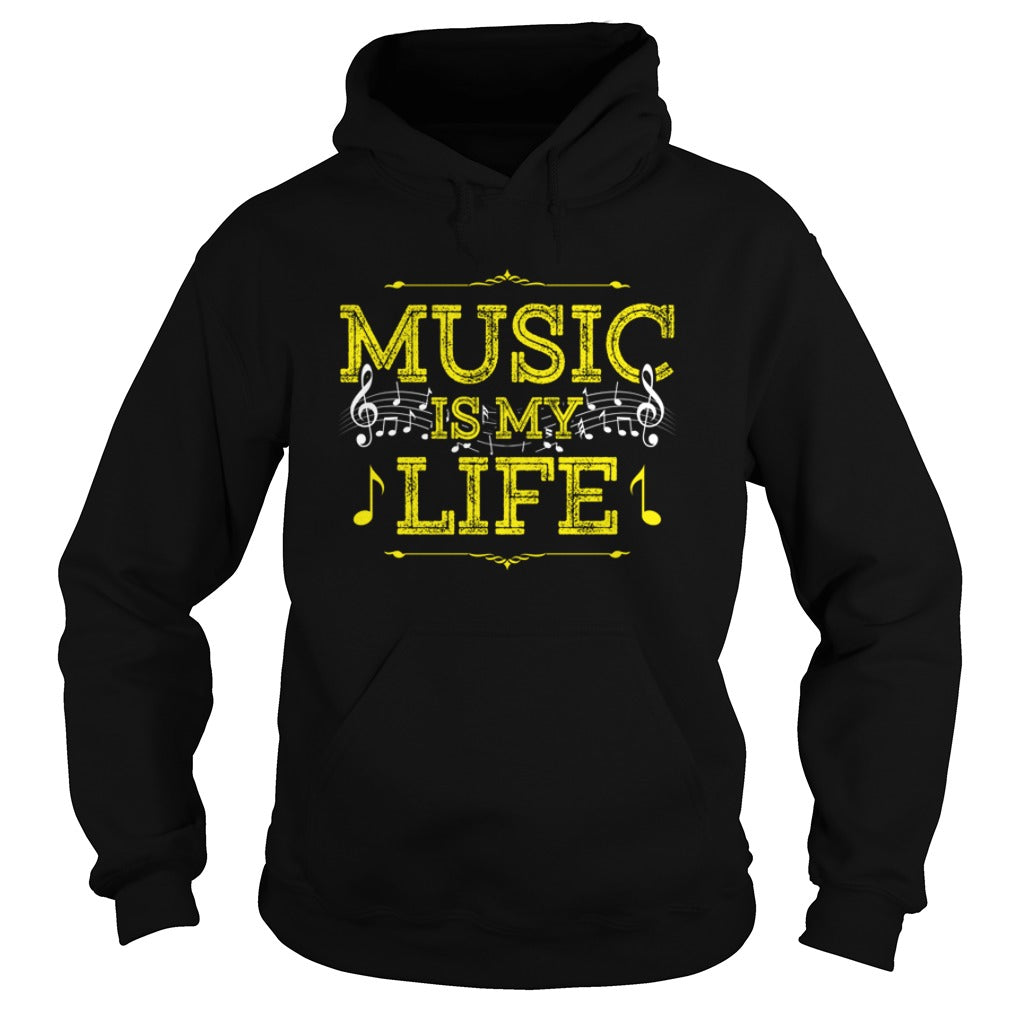 Music Is My Life Hoodie