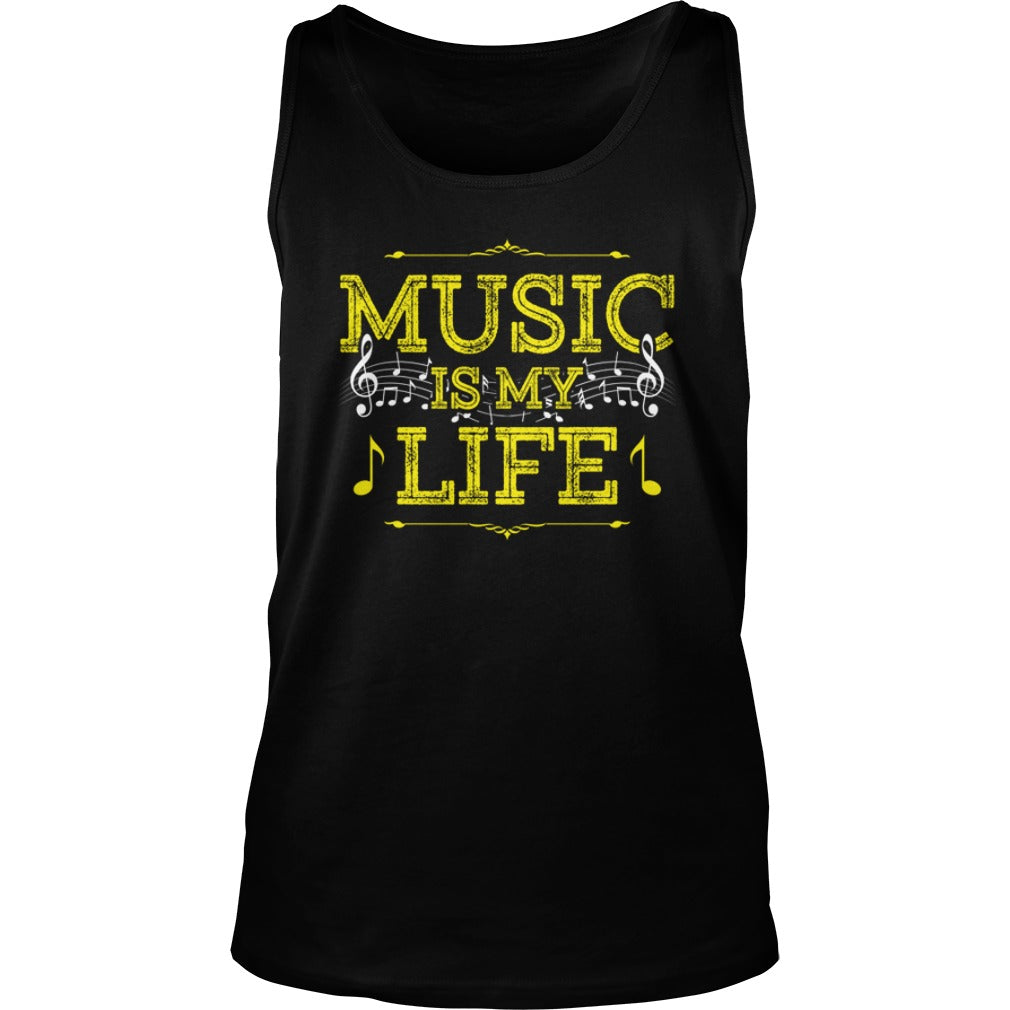 Music Is My Life Unisex Tank Top