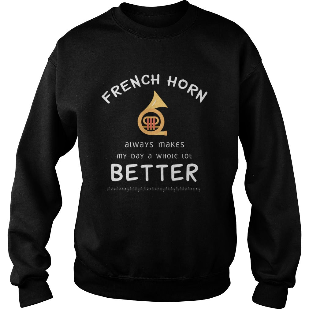 French Horn Better Sweatshirt