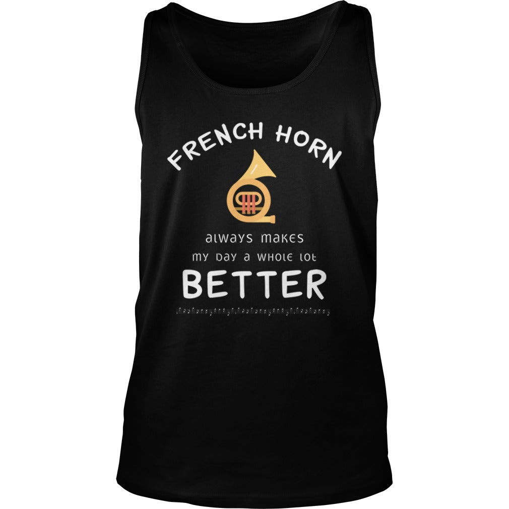 French Horn Better Unisex Tank Top