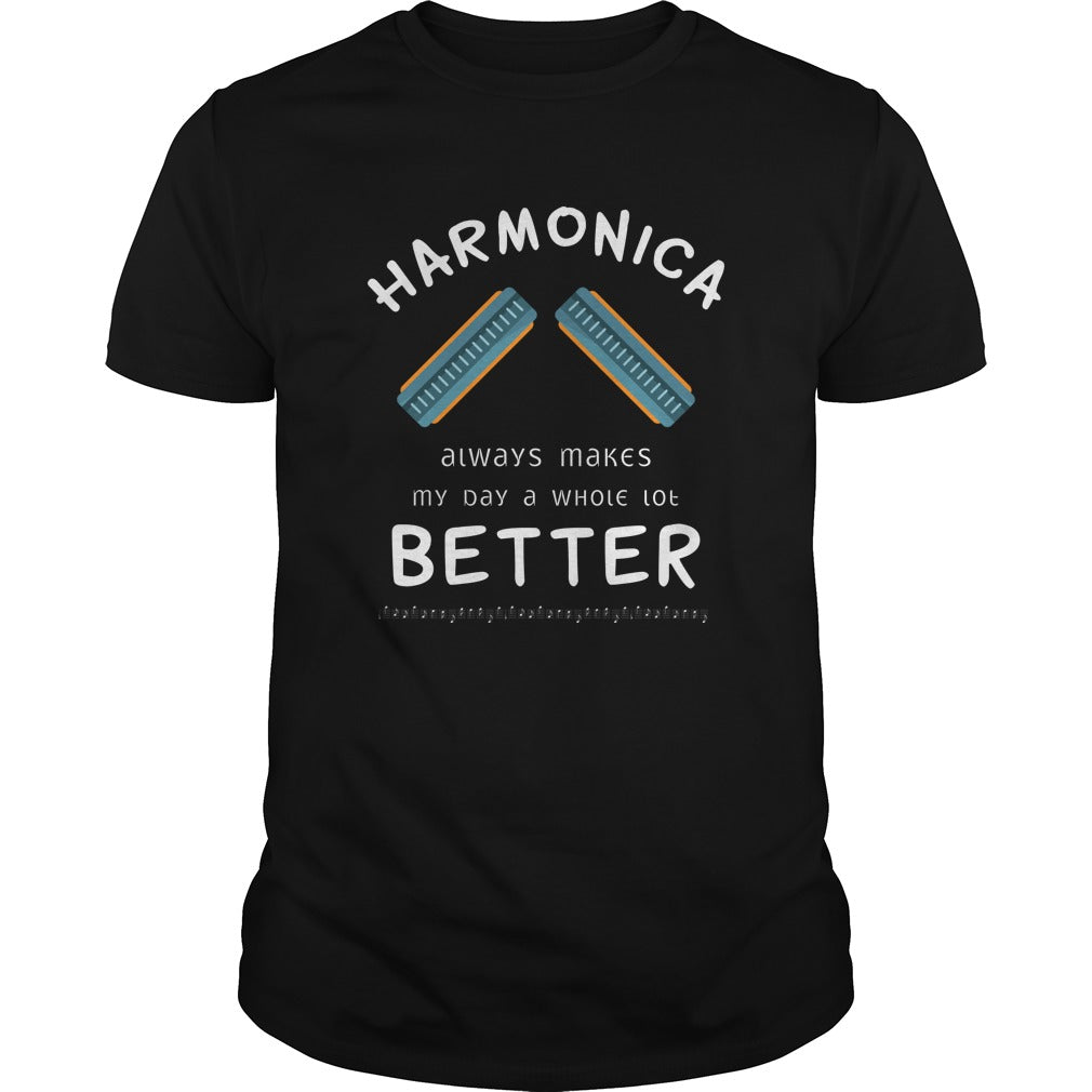 Harmonica Better Men's T-Shirt