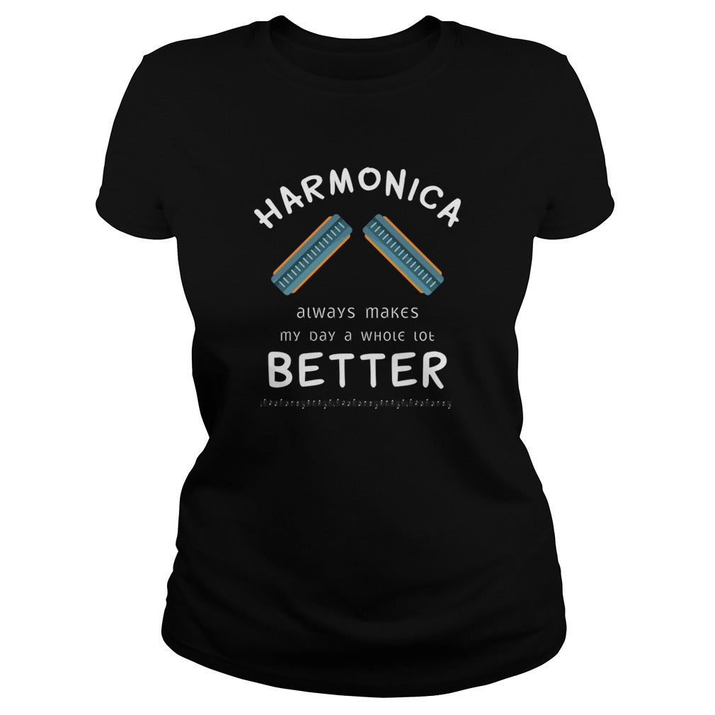 Harmonica Better Women's T-Shirt