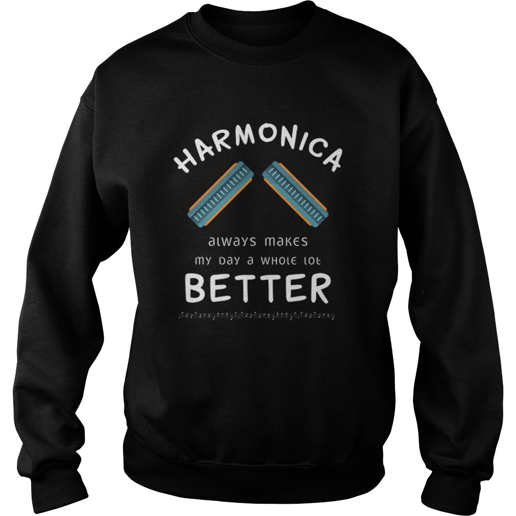 Harmonica Better Sweatshirt