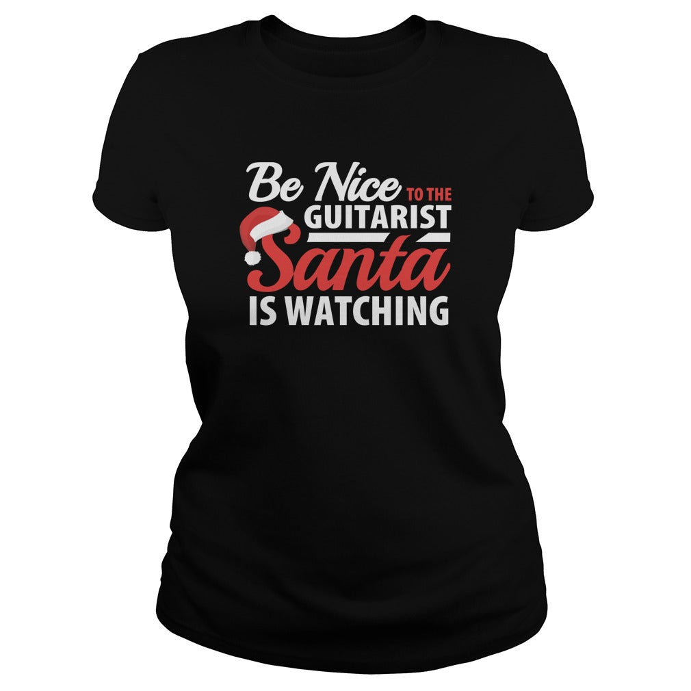 Guitarist Santa Women's T-Shirt
