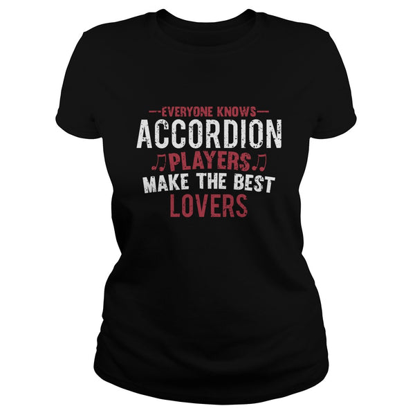 Accordion Players Lovers Men's T-Shirt