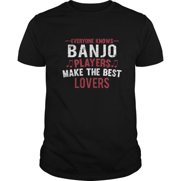 Banjo Players Lovers Men's T-Shirt