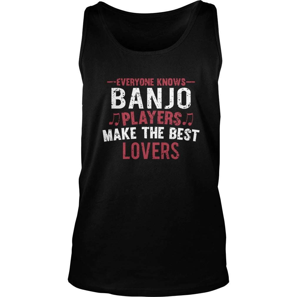 Banjo Players Lovers Unisex Tank Top