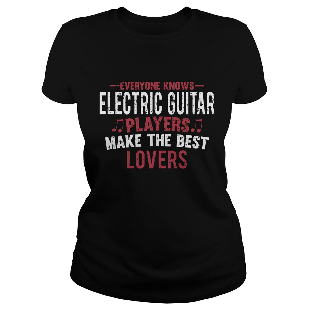 Electric Guitar Lovers Women's T-Shirt