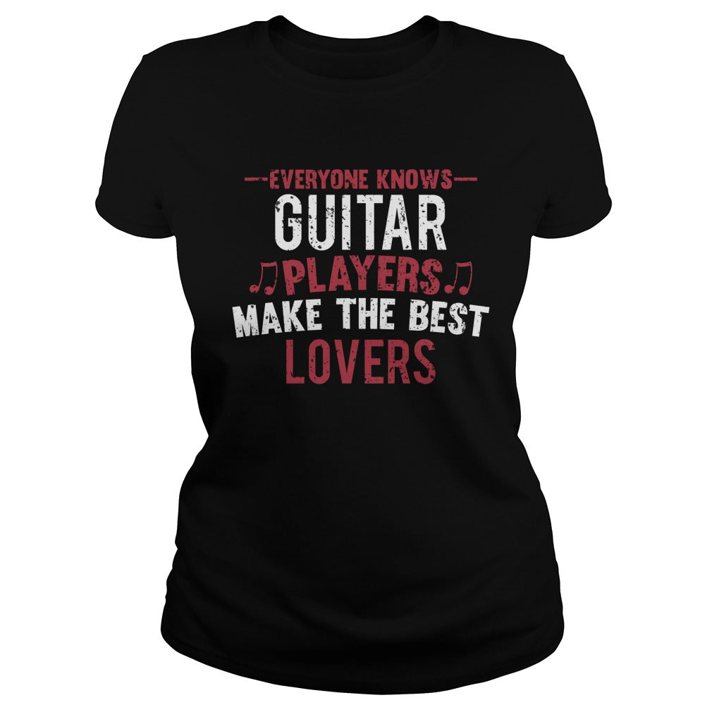 Guitar Players Lovers Women's T-Shirt