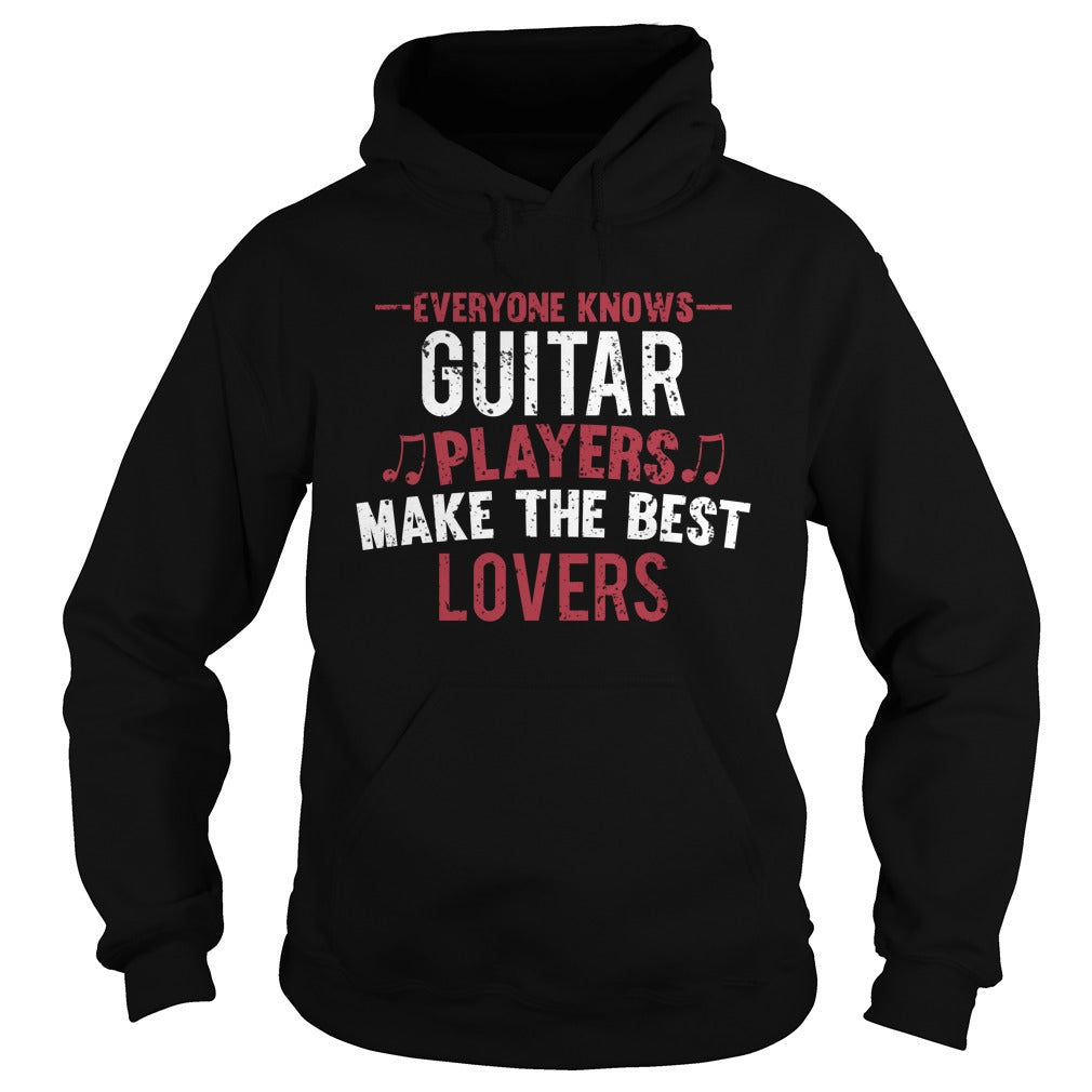 Guitar Players Lovers Hoodie