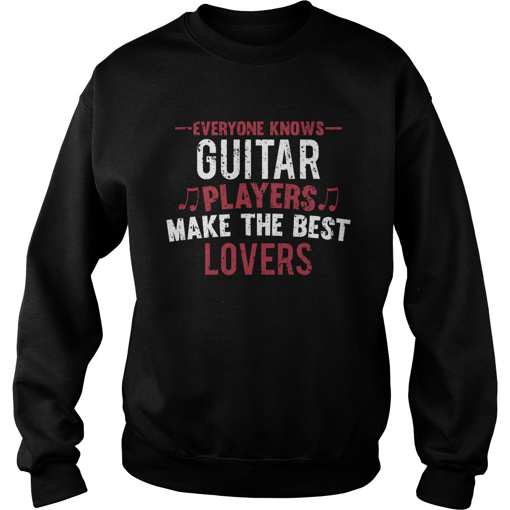 Guitar Players Lovers Sweatshirt