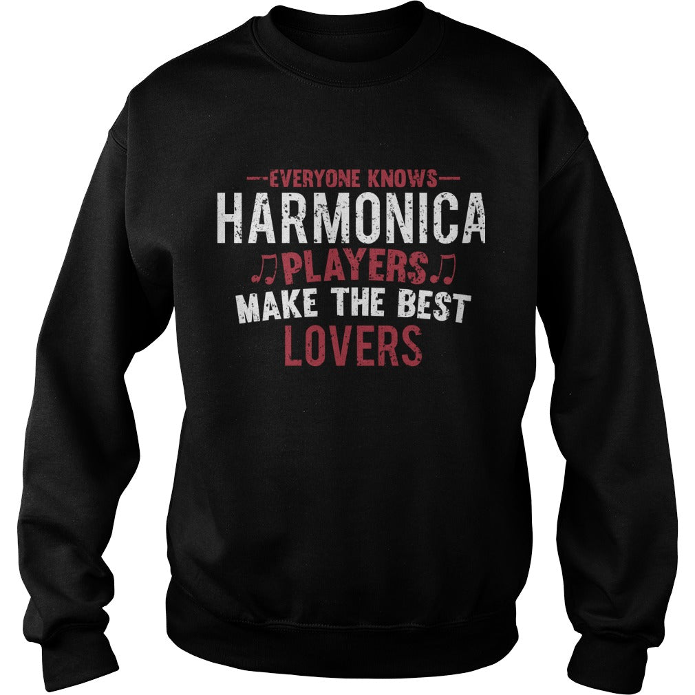 Harmonica Players Lovers Sweatshirt