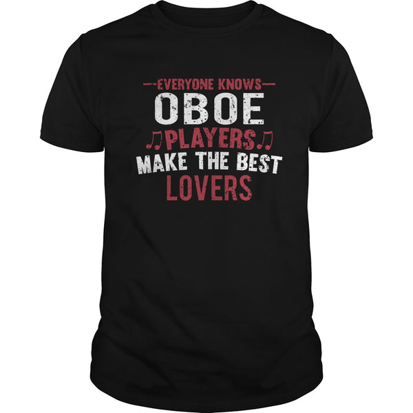 Oboe Players Lovers Men's T-Shirt