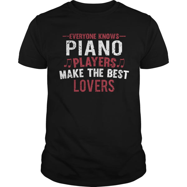 Piano Players Lovers Men's T-Shirt