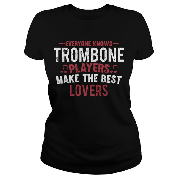 Trombone Players Lovers Men's T-Shirt