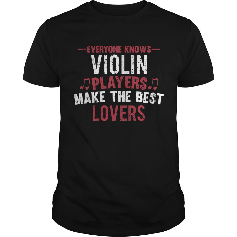Violin Players Lovers Men's T-Shirt