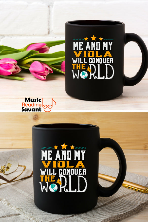 Viola World Coffee Mug Black