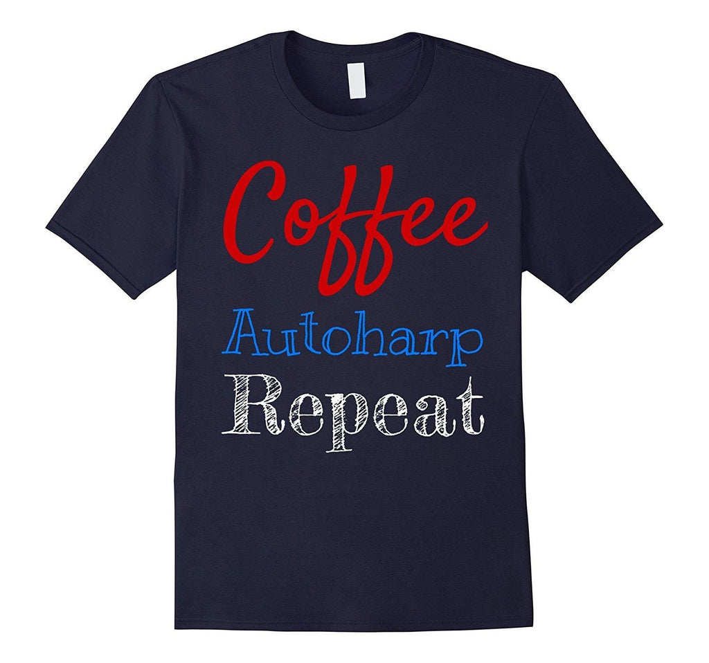 Coffee Autoharp Player T-Shirt
