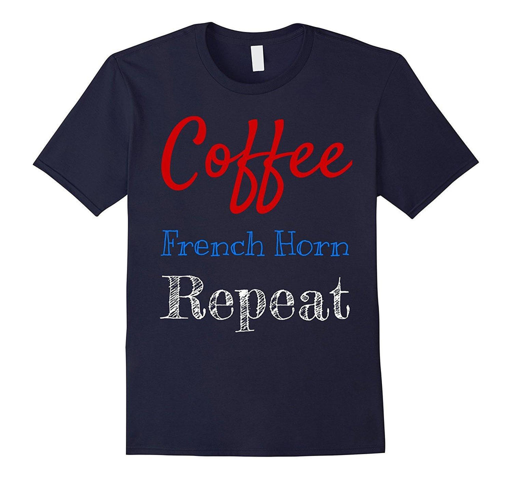 Coffee French Horn Player T-Shirt