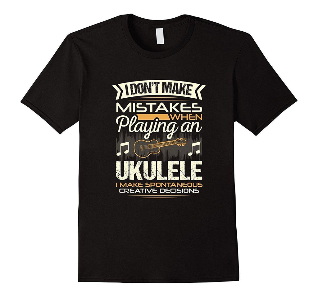 Ukulele Player Statement T-Shirt
