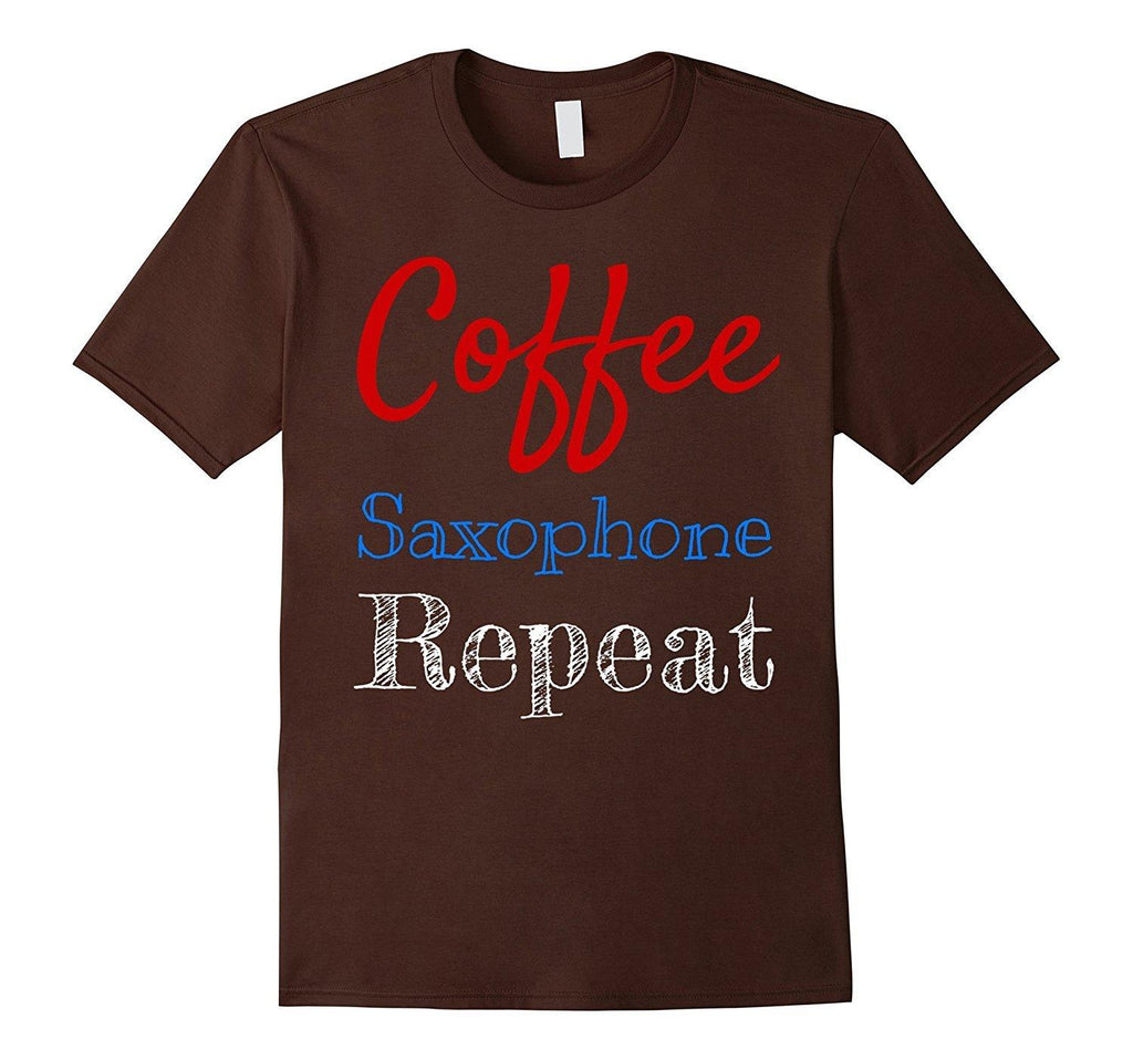 Coffee Saxophone Player T-Shirt