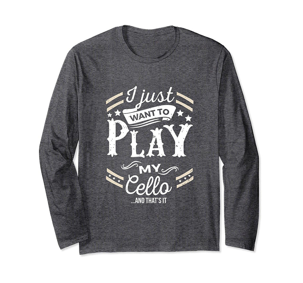 Cello Player Statement Long Sleeve T-Shirt