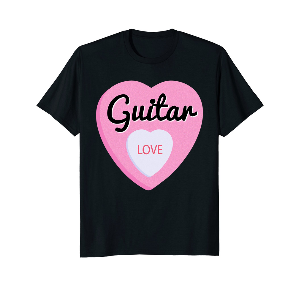 Guitar Player Valentine's Day T-Shirt