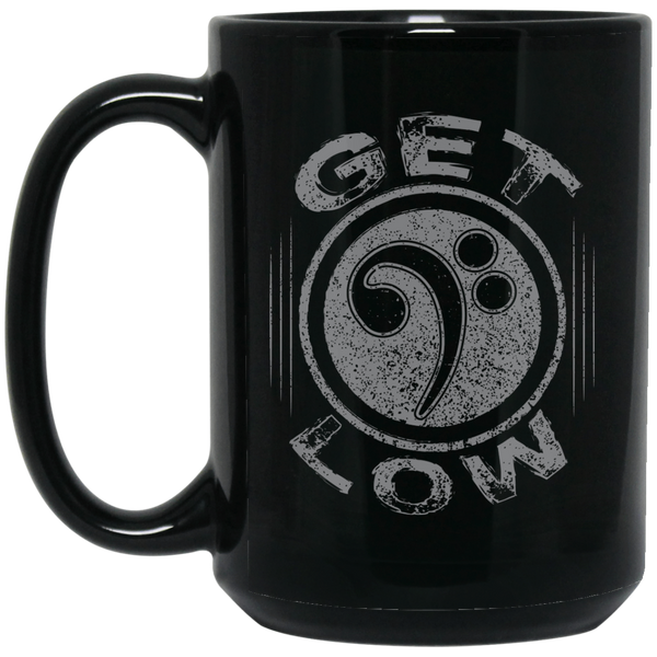 Get Low Bass Clef Coffee Mug Black