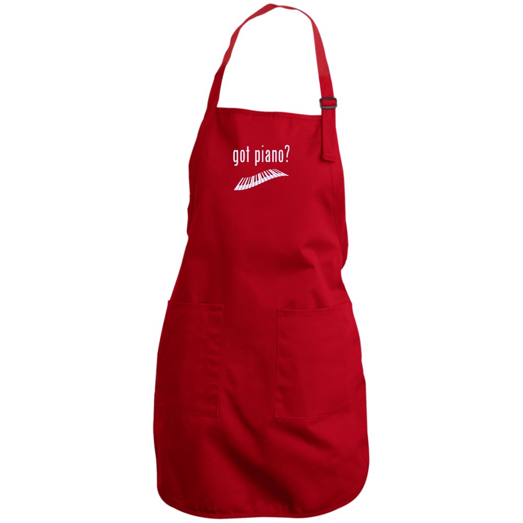 Got Piano Adustable Full Length Apron