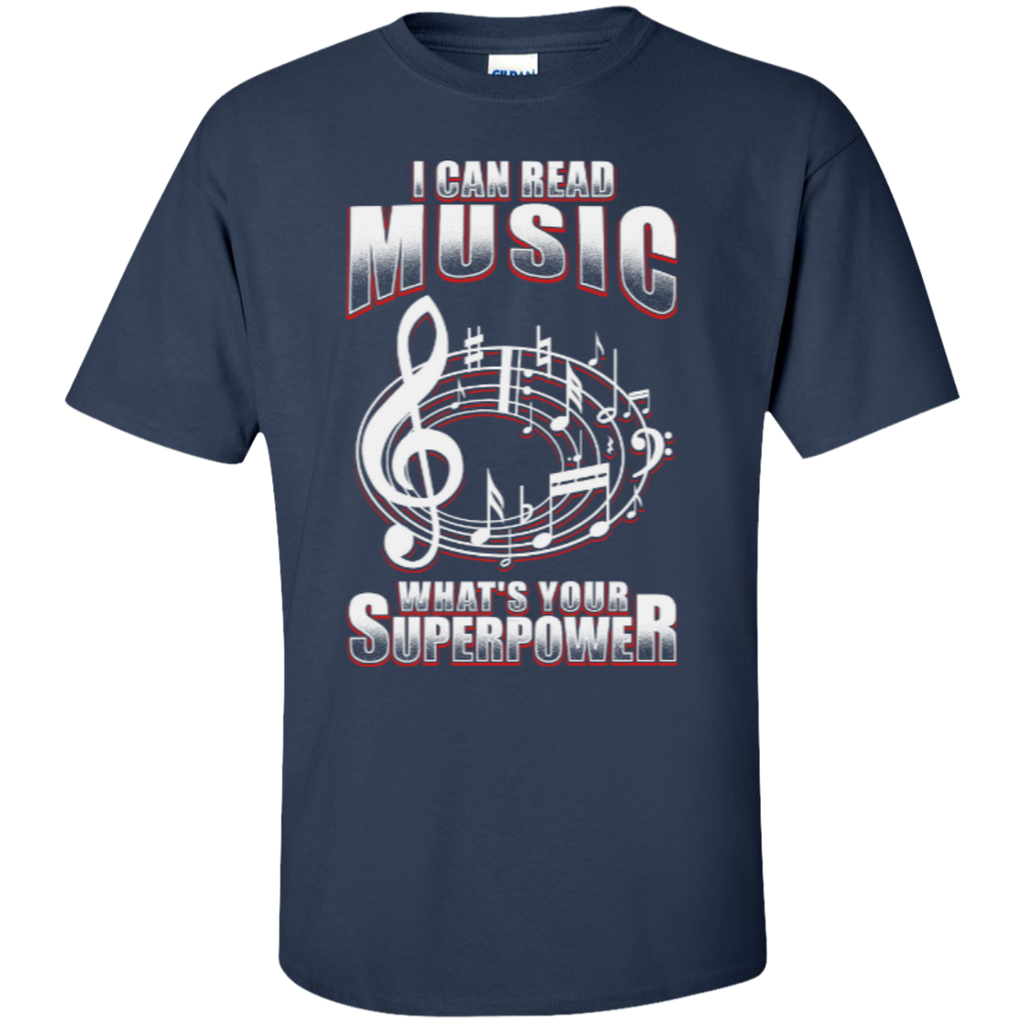 I Can Read Music, What's Your Superpower T-Shirt - Music Reading Savant Store