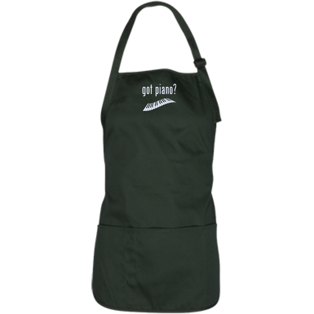Got Piano Adjustable Medium Length Music Apron