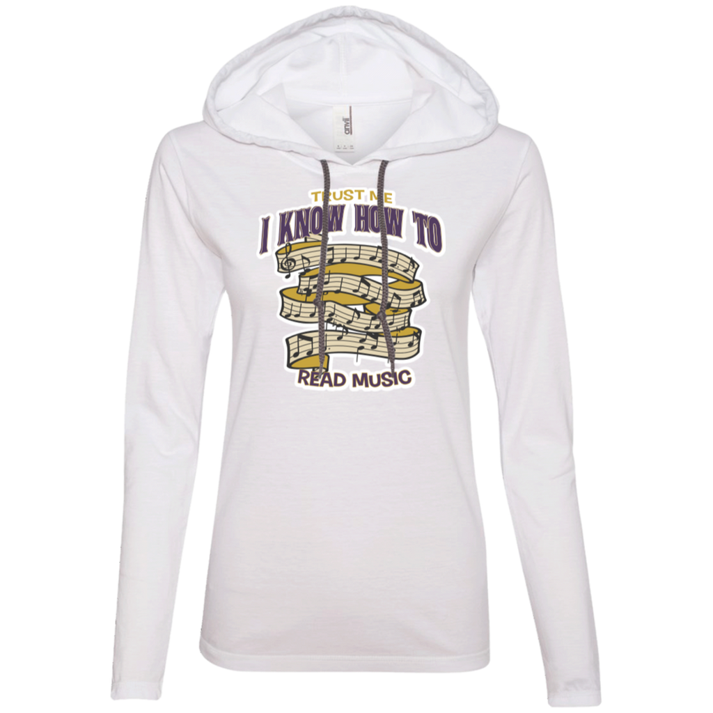 Music Long Sleeve T-Shirt Hoodie for Women