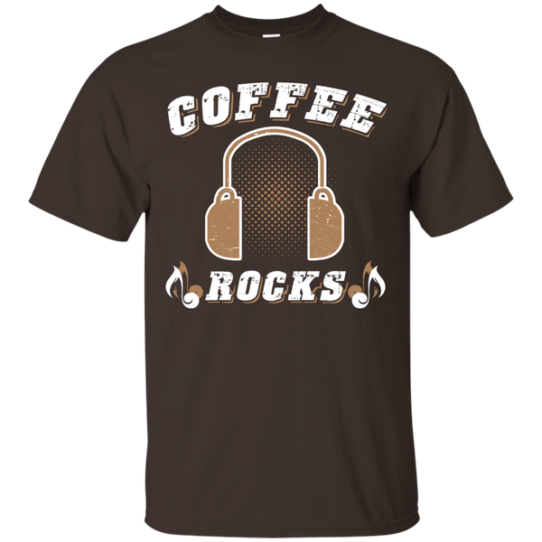Coffee Rocks Java Lover Unisex T-Shirt Black