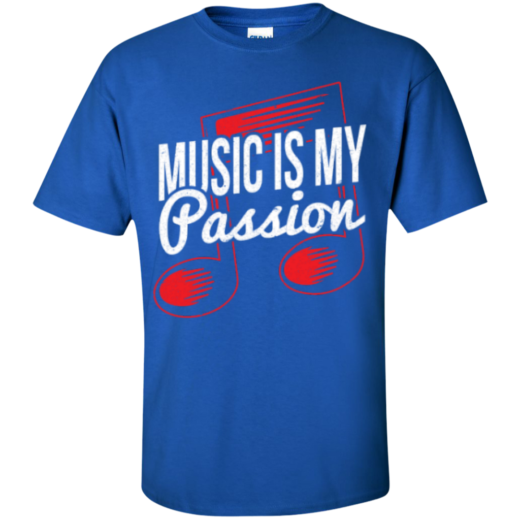 Music Is My Passion T-Shirt - Music Reading Savant Store