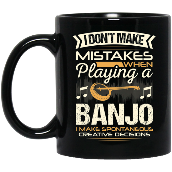 143c6066 A coffee mug for banjo players that don't make mistakes. I enjoy giving