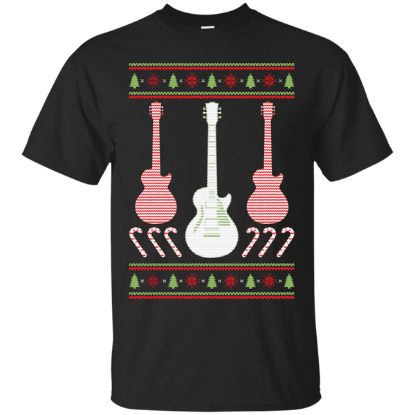 Electric Guitar Ugly Christmas Sweater T-Shirt
