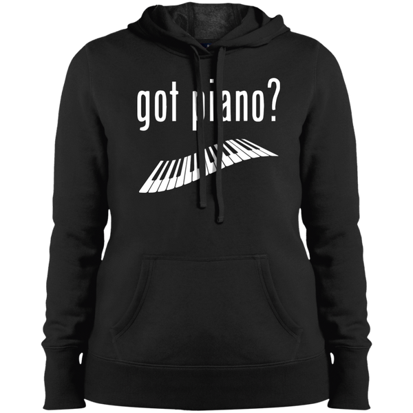 Got Piano Ladies Pullover Hooded Sweatshirt