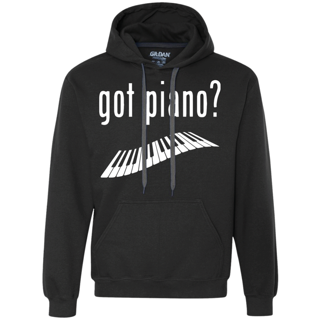Got Piano Heavyweight Pullover Fleece Sweatshirt