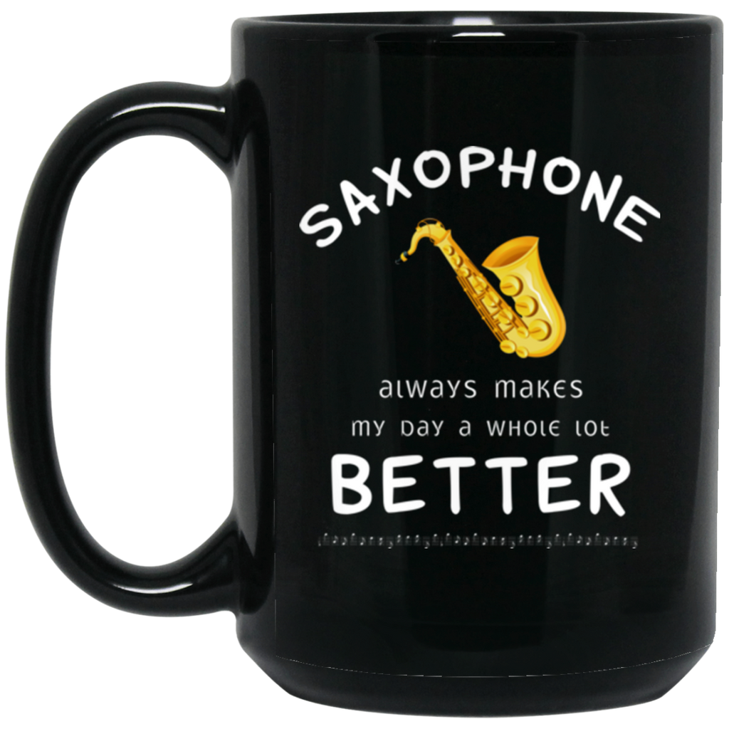 Saxophone Player Music Instrument Coffee Mug