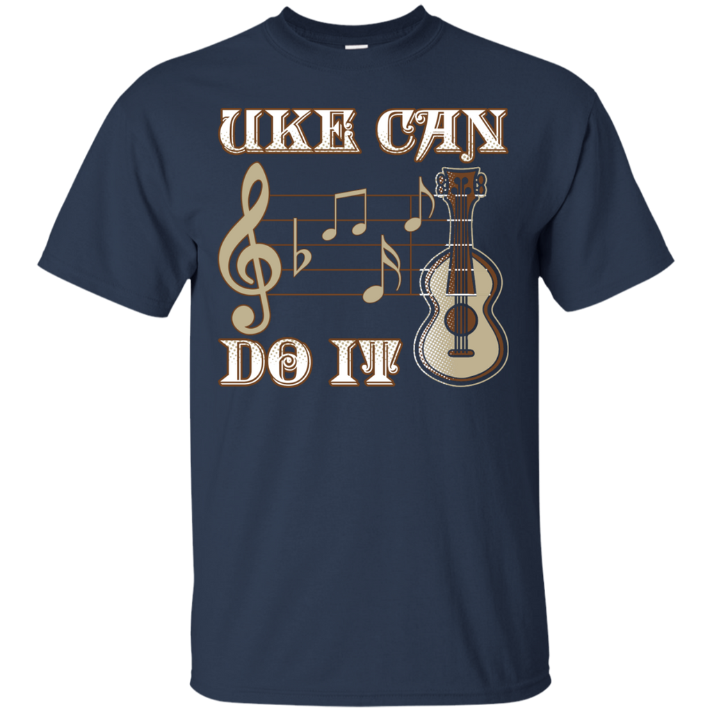 Uke Can Do It Ukulele T-Shirt