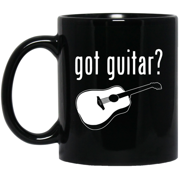 Got Guitar? Coffee Mug Black