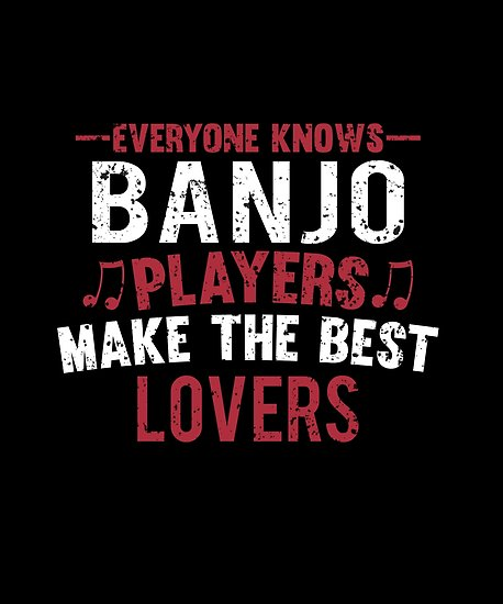 Banjo Players Lovers Poster