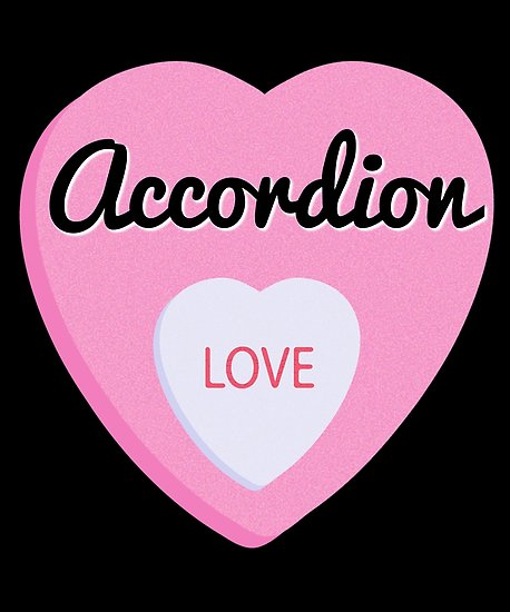Accordion Love Poster