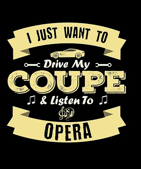 Coupe Opera Poster