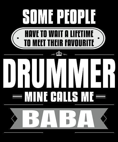 Drummer Calls Me Baba Poster