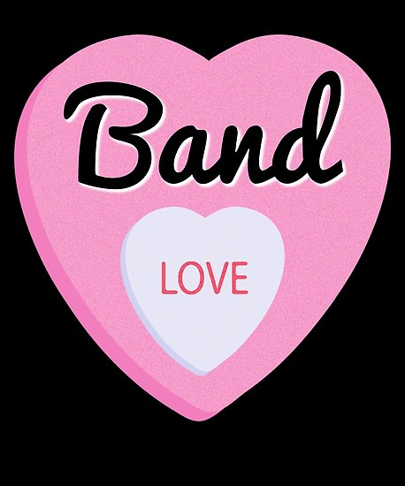 Band Love Poster